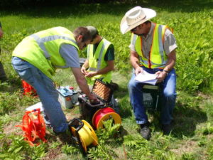 Resistivity Testing in Maine