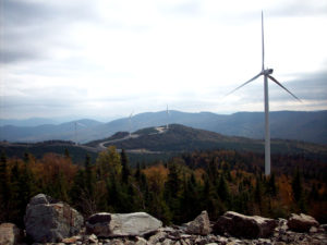 energy Wind turbines in Maine