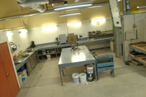 One of our construction materials testing laboratories