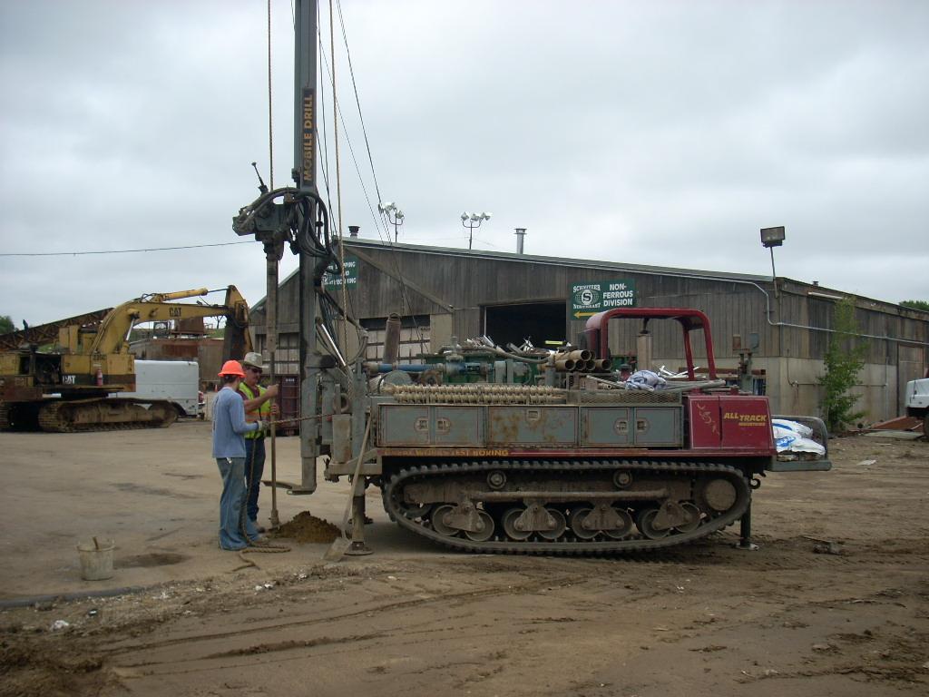 Schnitzer Steel Drilling SW Cole - Schnitzer metals recycling