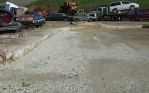 Subgrade preparation